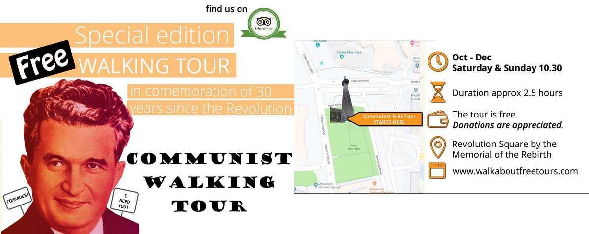 Turist în București – Walking Tour